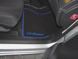 CLASSIC Velours automatten met logo Citroen C4 Picasso I 2006-2013