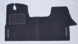 CLASSIC Velours automatten met logo Fiat Ducato III 2006-