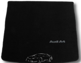 CLASSIC Velours Kofferbakmat  Audi A4 B6 stationwagen