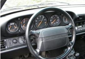 Porsche 964 - Verchroomde aluminium Tellerringen