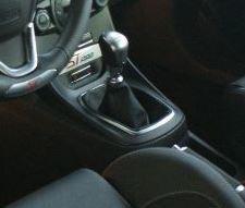 Ford Fiesta Mk7 - Echt leder pookhoes