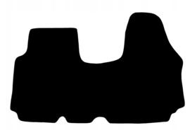 CLASSIC Velours automatten met logo Nissan Primastar 2001-2014