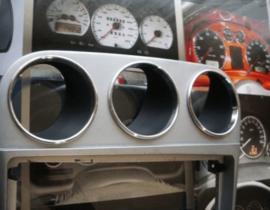Alfa Romeo 156 FL - Verchroomde aluminium extra Tellerringen
