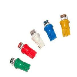 LED lampen R10/T10 W3W,W5W 12V voor de tellers