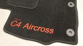 CLASSIC Velours automatten met logo Citroen C4 Aircross