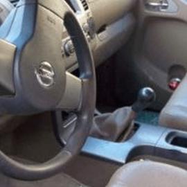 Nissan Pathfinder III R 51 - Echt leder pookhoes