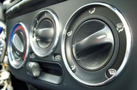 Fiat Bravo Brava - Verchroomde aluminium Kachel ringen