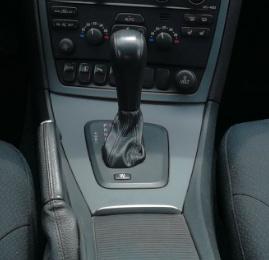 Volvo V70 II automaat - Echt leder pookhoes