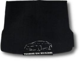 CLASSIC Velours Kofferbakmat Audi Q5 2008-2017