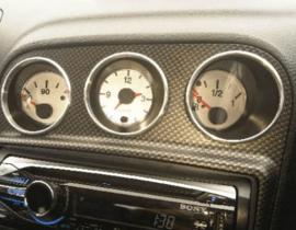 Alfa Romeo 156 - Verchroomde aluminium extra Tellerringen