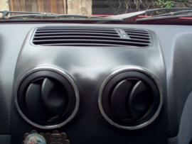 Alfa Romeo 145 / 146 - Verchroomde aluminium luchtinlaat ringen