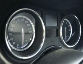 Alfa Romeo 159 - Verchroomde aluminium Tellerringen