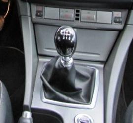 Ford Focus Mk2 2004-2011 - Echt leder pookhoes