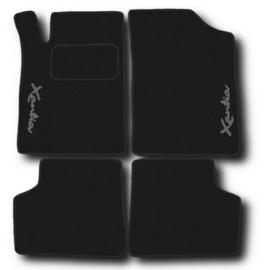 CLASSIC Velours automatten met logo Citroen Xantia