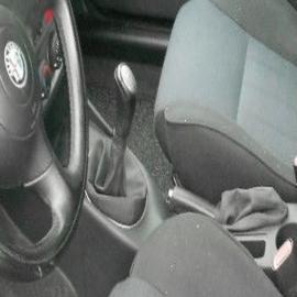 Alfa Romeo 147 - Echt leder handremhoes