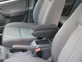 Armsteun de lux, zwart leer, Volkswagen Golf 5
