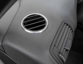Audi A3 8L - Verchroomde aluminium ventilatieringen