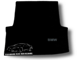 CLASSIC Velours Kofferbakmat BMW Serie 3 E90 sedan 2004-