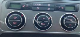 Volkswagen Golf 5 / Touran - Verchroomde aluminium kachel ringen