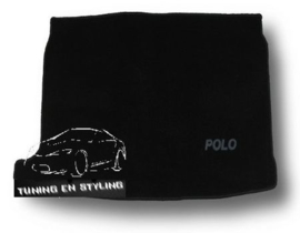 CLASSIC Velours Kofferbakmat  Volkswagen Polo 5 2009-2017