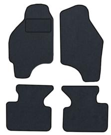 CLASSIC Velours automatten met logo Fiat Punto II 3 deuren 1999-2011