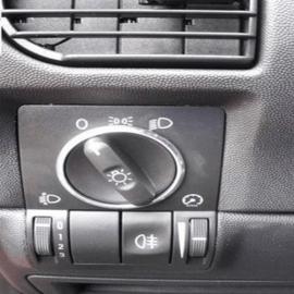 Opel Corsa C  - verchroomde aluminium kachel ringen