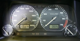 Volkswagen Caddy / Golf 3 / Polo 6N / Vento / Cordoba I / Inca - Verchroomde aluminium Tellerringen