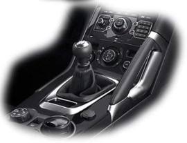 Peugeot 3008 I - Echt leder pookhoes