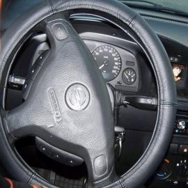 Leder stuurhoes uit auto-leer