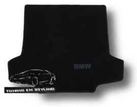 CLASSIC Velours Kofferbakmat  BMW Serie 1 E87 2004-