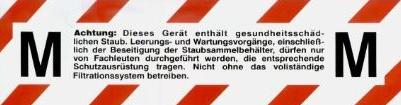 M filter - Bouwstofzuiger - Dustcontrol