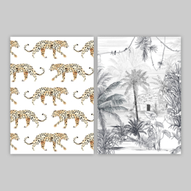 Postcards - LEOPARD SET