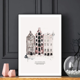 Poster - Amsterdam - A4