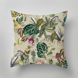 Pillow - BOLD BOTANICS green