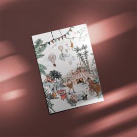 Ansichtkaart - Cirque du Fantasy