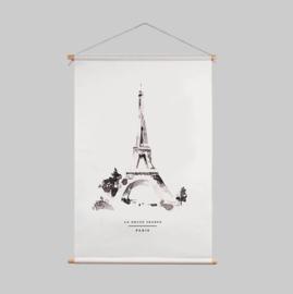 Textielposter - PARIS
