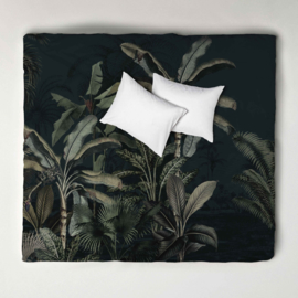 Duvet Cover Set  DREAMY JUNGLE dark - double
