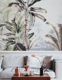 Jungle Behang - Wandgrote afbeelding - DREAMY JUNGLE SOFT