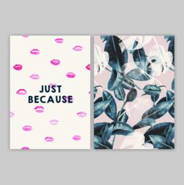 Postcards - KISSES SET