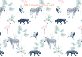 Jungle Wallpaper - Full wall sized image - CHIQ SAFARI