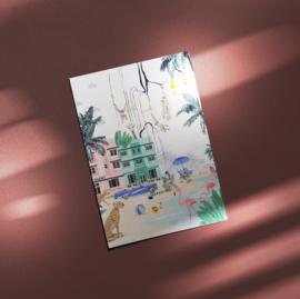 Ansichtkaart - Miami Beach