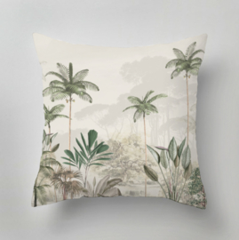 Kussen - TROPICAL WILDERNESS beige/green