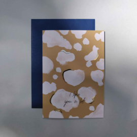 Greeting card - SPOTS