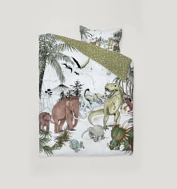 Toddler Bedding Set - PREHISTORIC 100x135cm