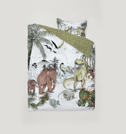 Bedding Set 1 person - PREHISTORIC 140x200cm