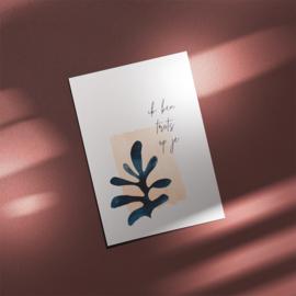 Postcard - ABSTRACT