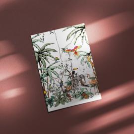 Ansichtkaart - Jungle tonal