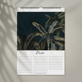 Birthday Calendar - Into The Jungle - A4