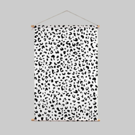 Textielposter - PEBBLE BEACH