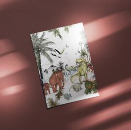 Ansichtkaart - Prehistoric